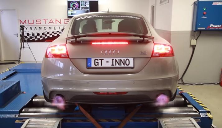 This Audi Tt V6 Sounds Like A Gtr Automotive Roar